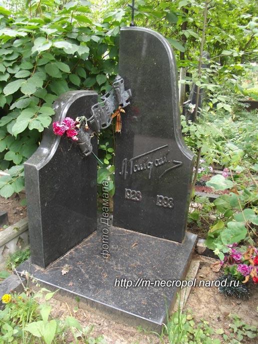 Московский некрополь могилы знаменитостей
