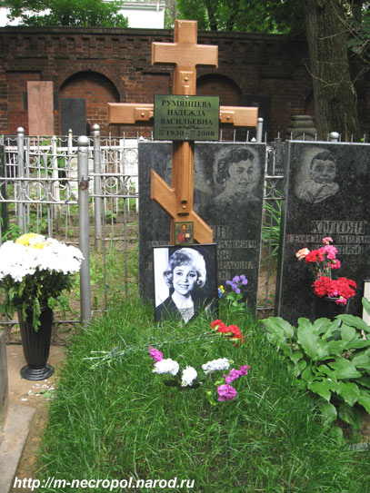 могила румянцевой надежды фото