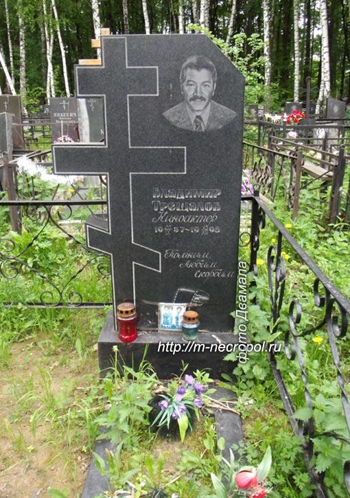 могила Владимира Трещалова, фото Двамала, вариант 18.5.2013 г.